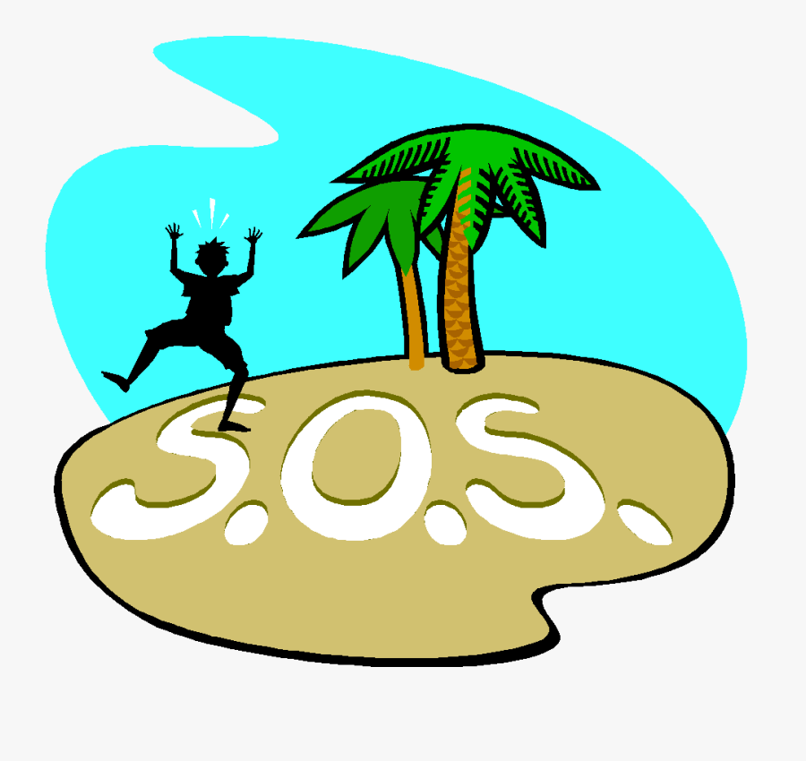 Desert Ourclipart Pin - Stranded On An Island Clipart, Transparent Clipart