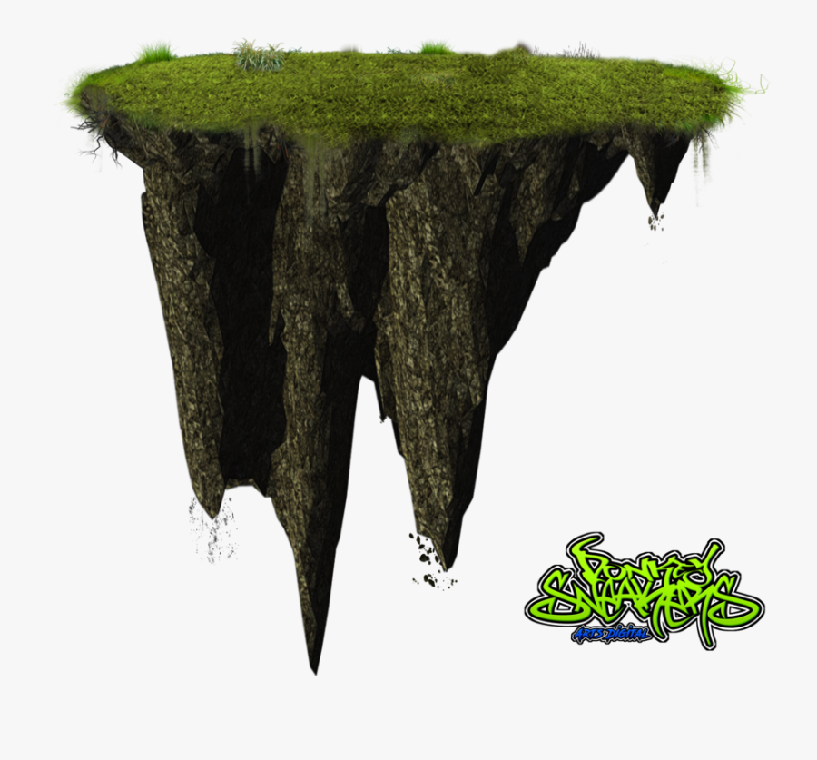 Transparent Island Clipart - Island Png Floating Island, Transparent Clipart