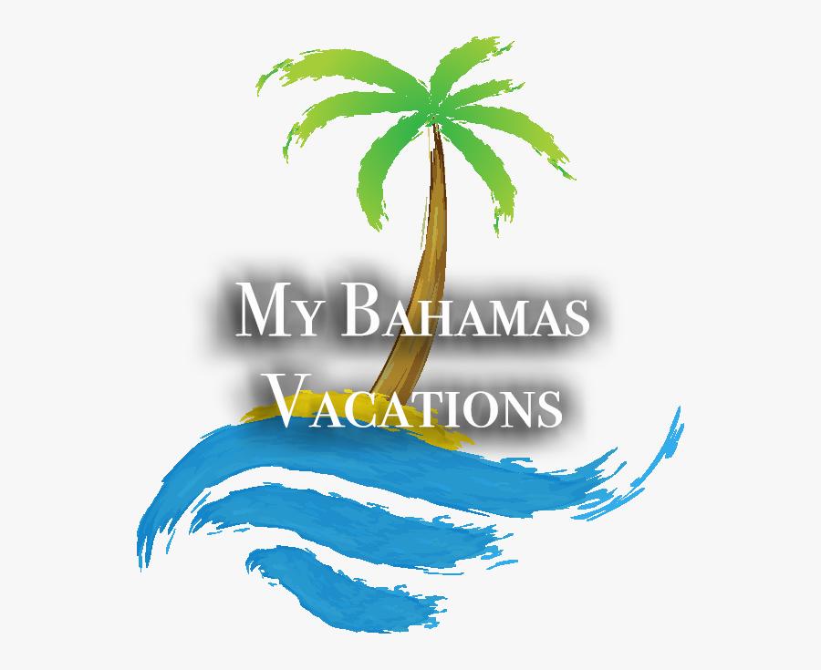 My Bahamas Vacations - Sail Boat On Waves Cartoon, Transparent Clipart