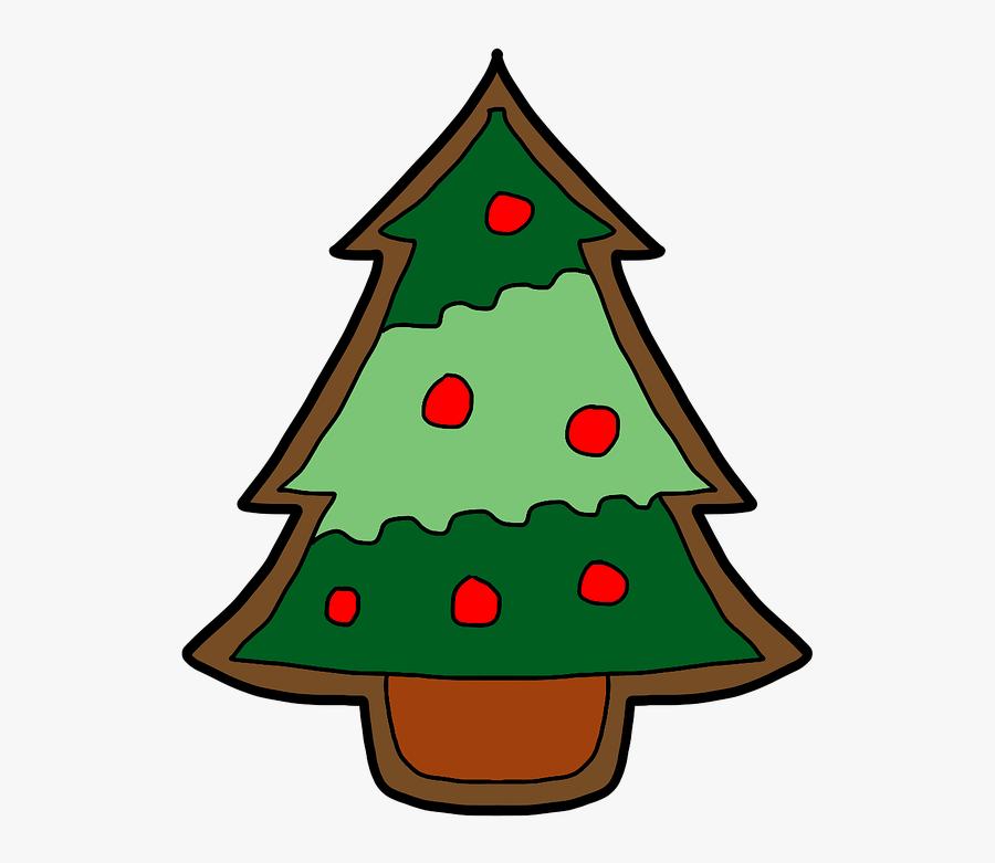 Pictures Of Cartoon Christmas Trees 12, Buy Clip Art - Galleta De Jengibre Navideña, Transparent Clipart