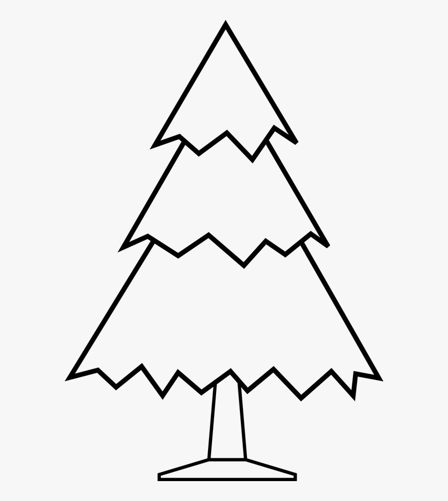 Christmas Tree Clipart - Christmas Tree Clipart Drawing, Transparent Clipart