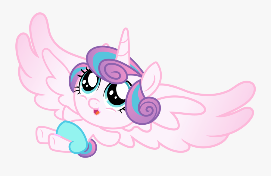 Alicorn, Baby, Baby Pony, Cooing, Cute, Dawwww, Diaper, - Mlp Flurry Heart Baby, Transparent Clipart