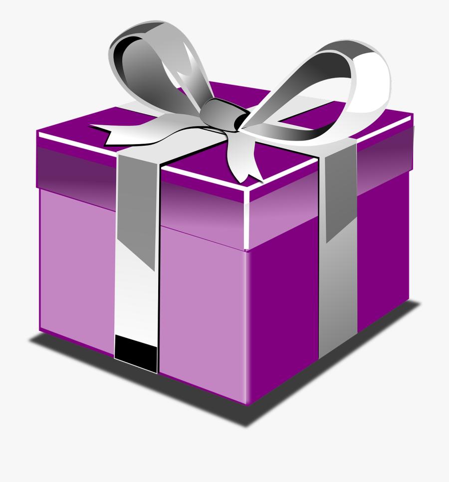 Present Box, Transparent Clipart
