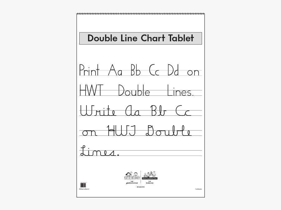 Write In A Double Line Book, Transparent Clipart