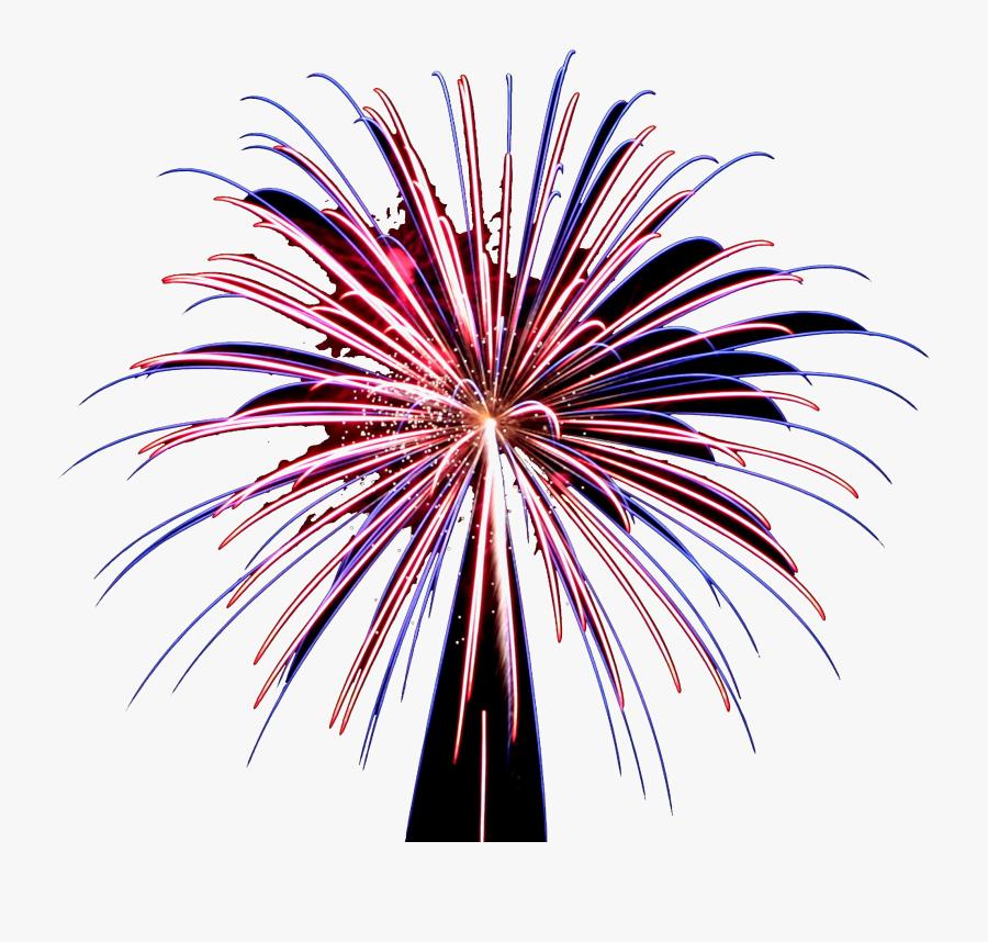 Fireworks Png Pic - Fireworks, Transparent Clipart