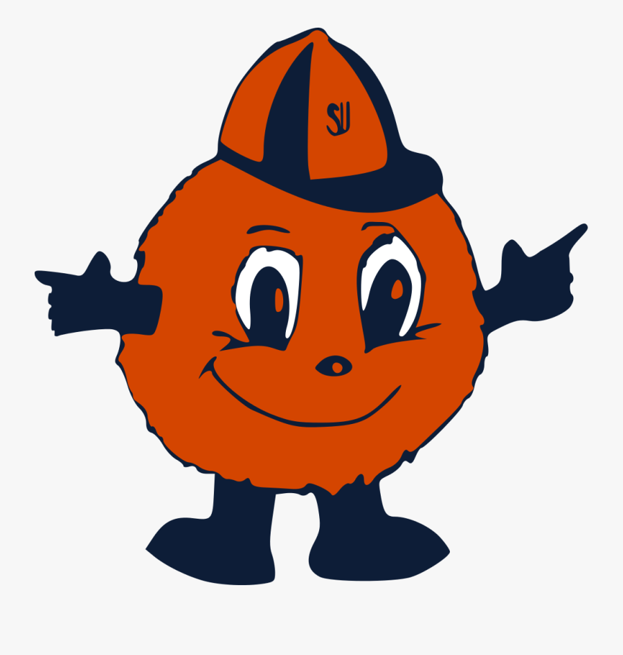 Syracuse Orange Basketball Clipart Otto The Orange Logo