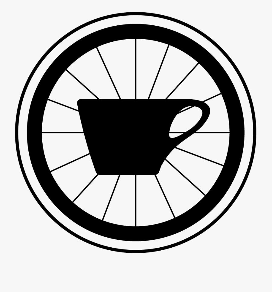 Transparent Bicycle Wheel Png - Regroup Coffee And Bicycles, Transparent Clipart