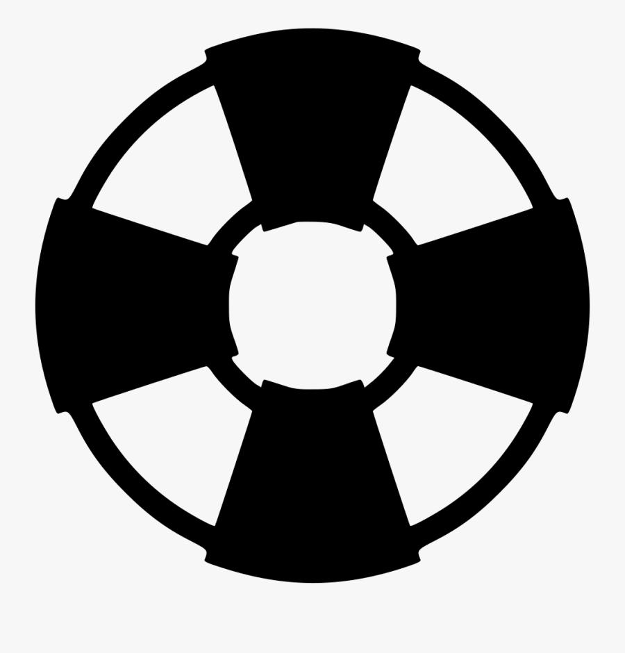 Symbol Rescue Tire Vector Clipart , Png Download - Buoy Icons Noun Project, Transparent Clipart