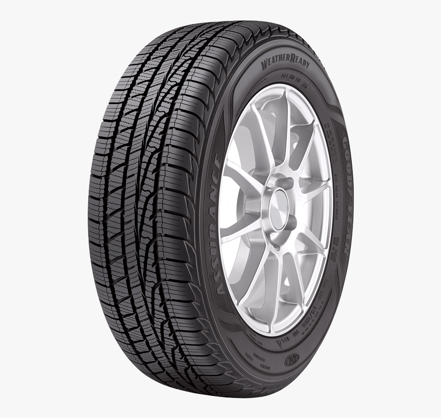 Tire, Assurance Weatherready Tires Goodyear Tires - Goodyear Eagle F1 Asymmetric, Transparent Clipart