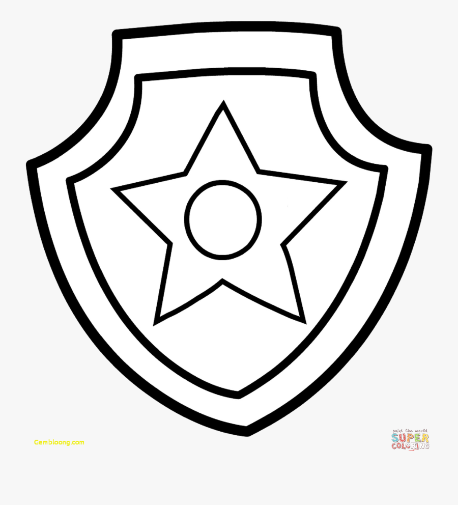 Paw Patrol Coloring Pages Easy , Free Transparent Clipart - ClipartKey