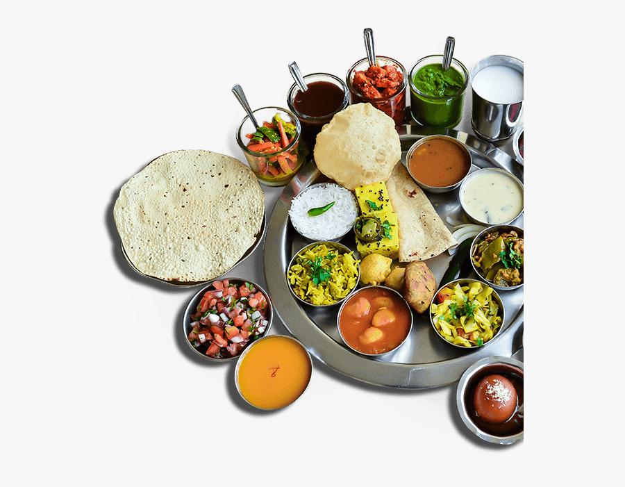 Transparent Thanksgiving Family Dinner Clipart - Indian Veg Food Hd Png, Transparent Clipart