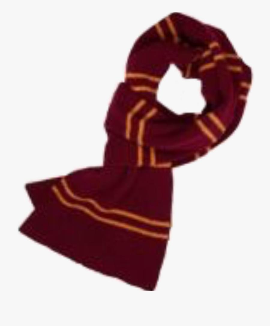 Saimantarrat Gryffindor Harrypotter Aesthetic Clothes - Harry Potter Gryffindor Scarf Clip Art, Transparent Clipart