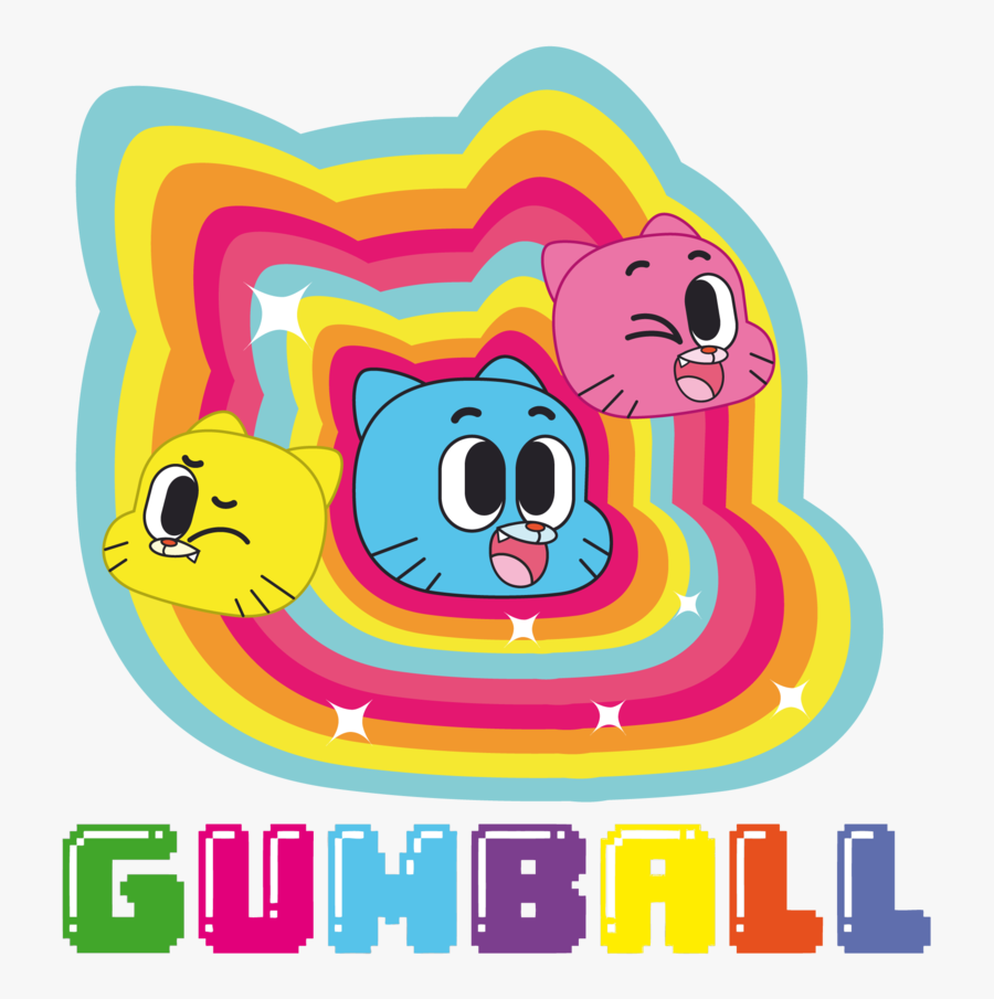 Amazing World Of Gumball By Leather Lynx Clipart - Amazing World Of Gumball Candybar, Transparent Clipart