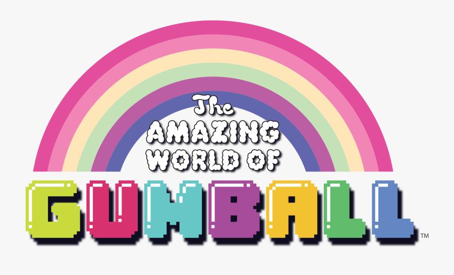 The Amazing World Of Gumball - Amazing World Of Gumball Rainbow, Transparent Clipart