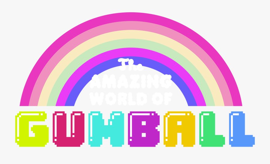 Amazing World Of Gumball Logo Vector, Transparent Clipart