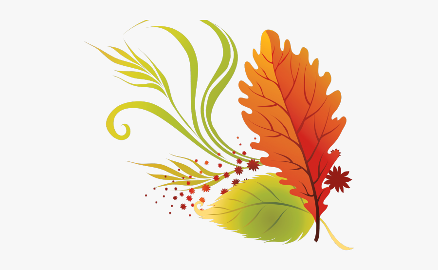 Fall Huge Freebie - Transparent Background Fall Leaves Clipart, Transparent Clipart