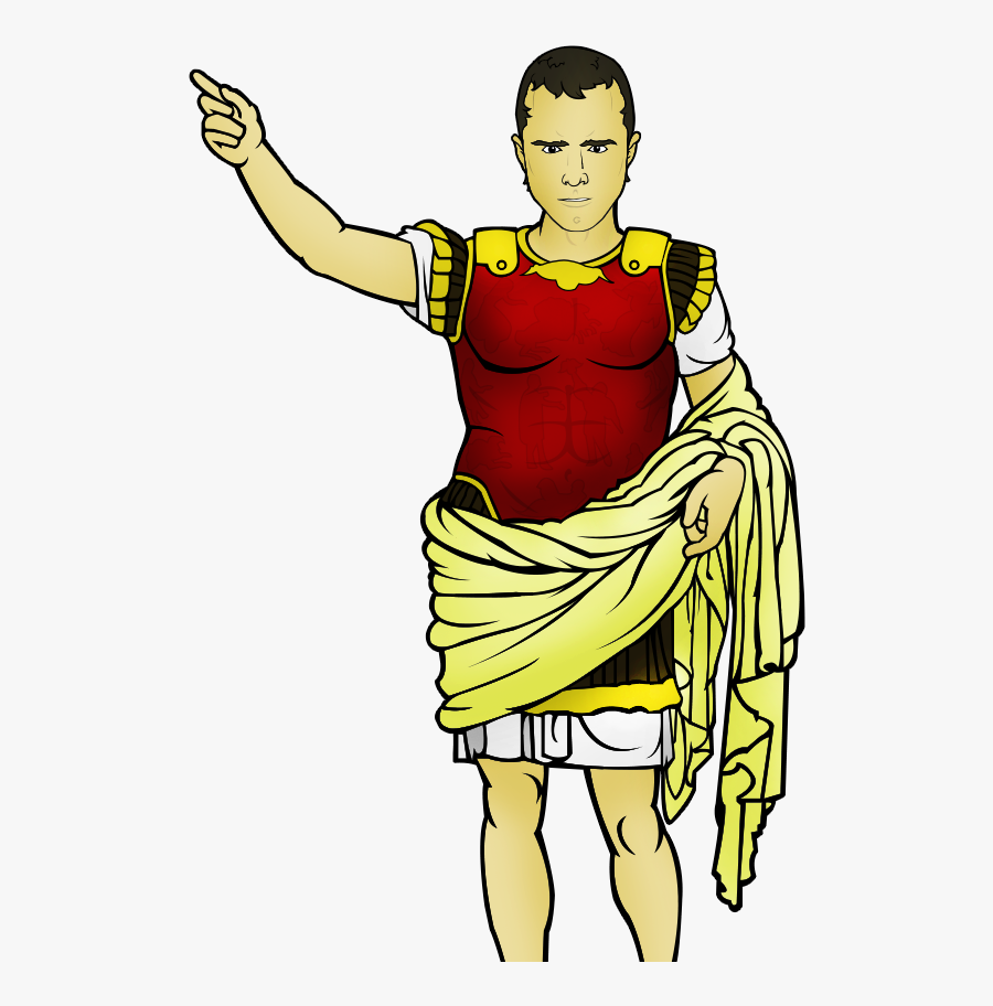 Augustus - Png Greek Caesar Clipart, Transparent Clipart