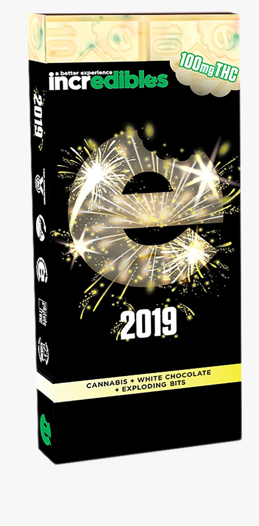 New Year Bar - Fireworks, Transparent Clipart