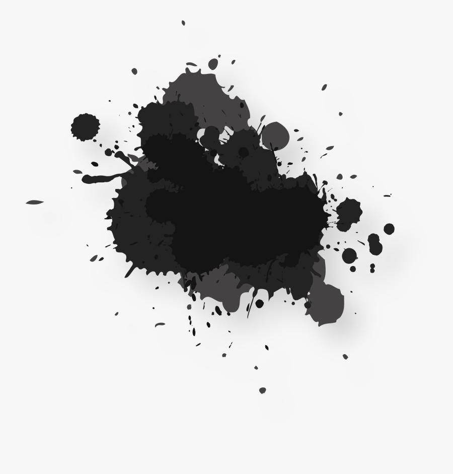 Clip Art Watercolor Painting Ink Splash - Water Splash Color Png, Transparent Clipart