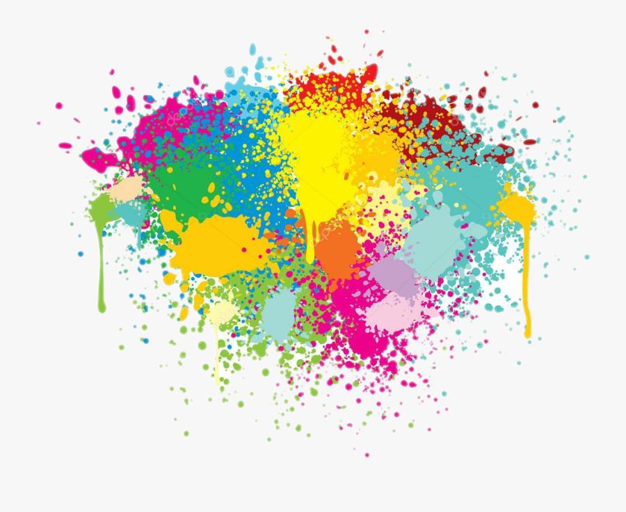 Colorful Splash Png - Splash Color Png Picsart, Transparent Clipart