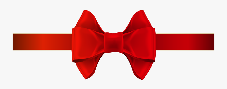 Red Ribbon Clipart At Free For Personal Use Red Png - Clip Art, Transparent Clipart