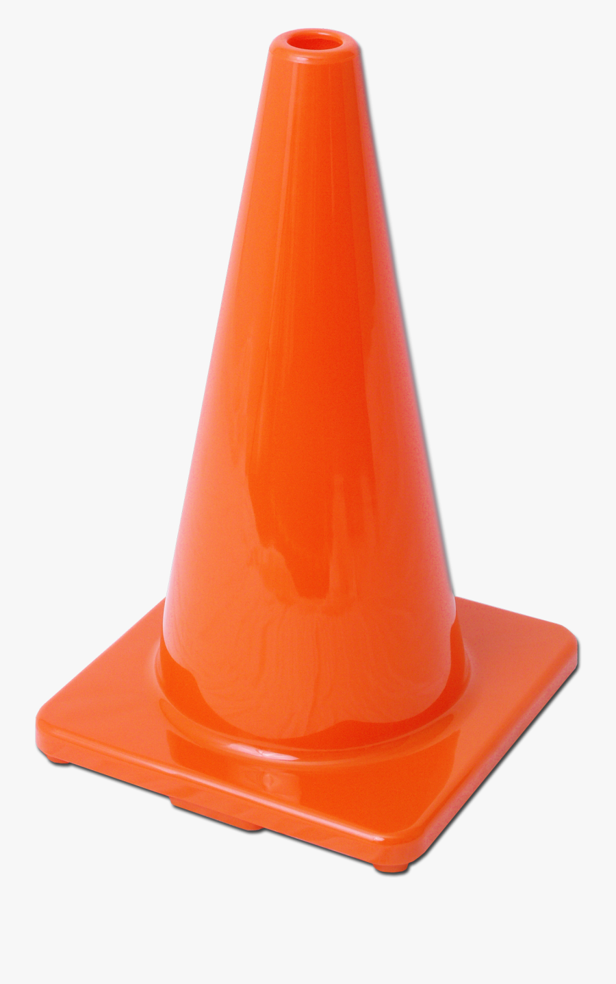 Orange Cone Png - Plastic, Transparent Clipart