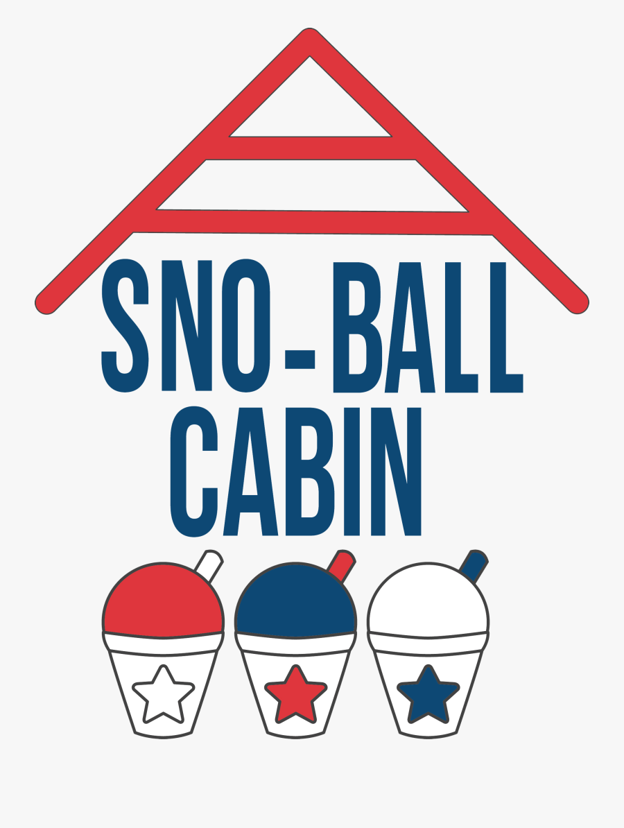 Shaved Ice Treats In Indian Trail - Snowball Cabin Indian Trail, Transparent Clipart