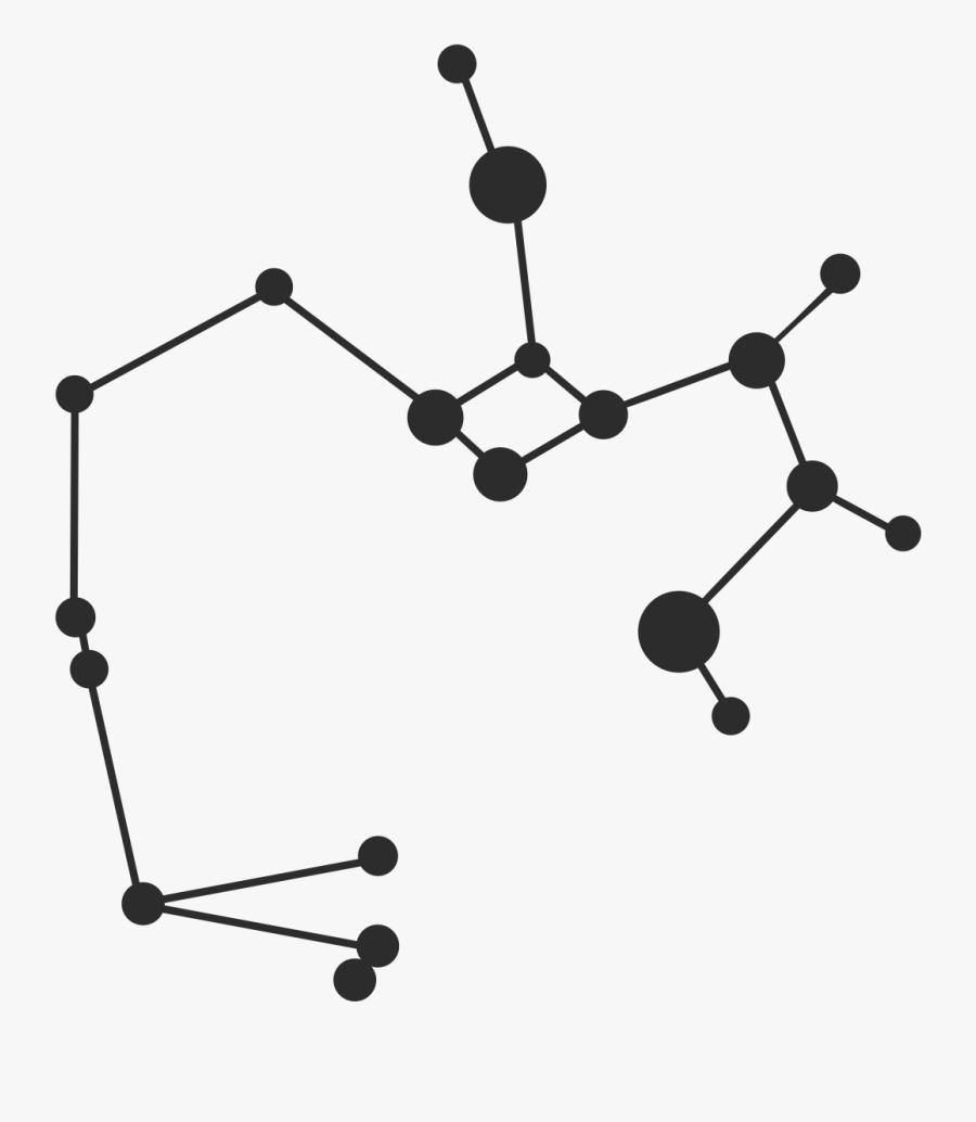 Transparent Background Sagittarius Constellation Png, Transparent Clipart