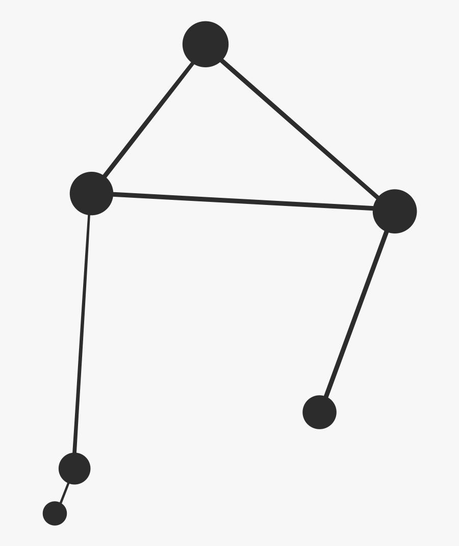 Libra Star Constellation Png, Transparent Clipart