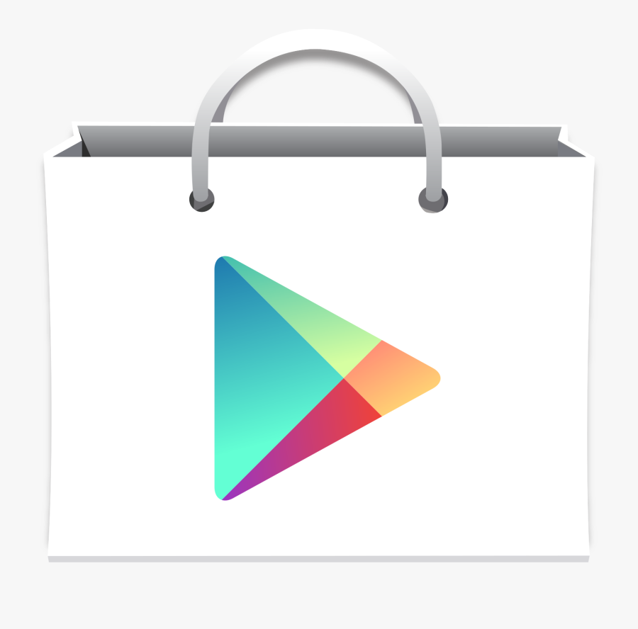 Old Google Play Icon Png, Transparent Clipart