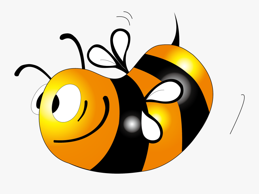 Honey Bee Clip Art - Bee Honey Color, Transparent Clipart
