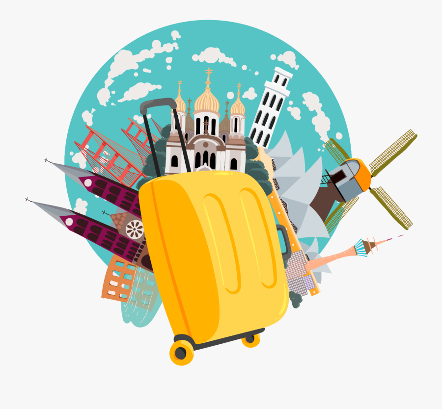 Tour Travel Png Vectors Tours And Travels Png Free Transparent Clipart Clipartkey