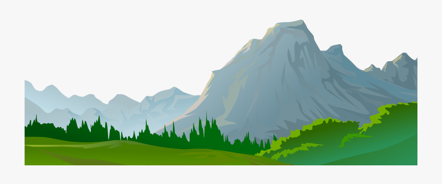 Transparent Rolling Hills Clipart - Transparent Background Mountain Clipart, Transparent Clipart