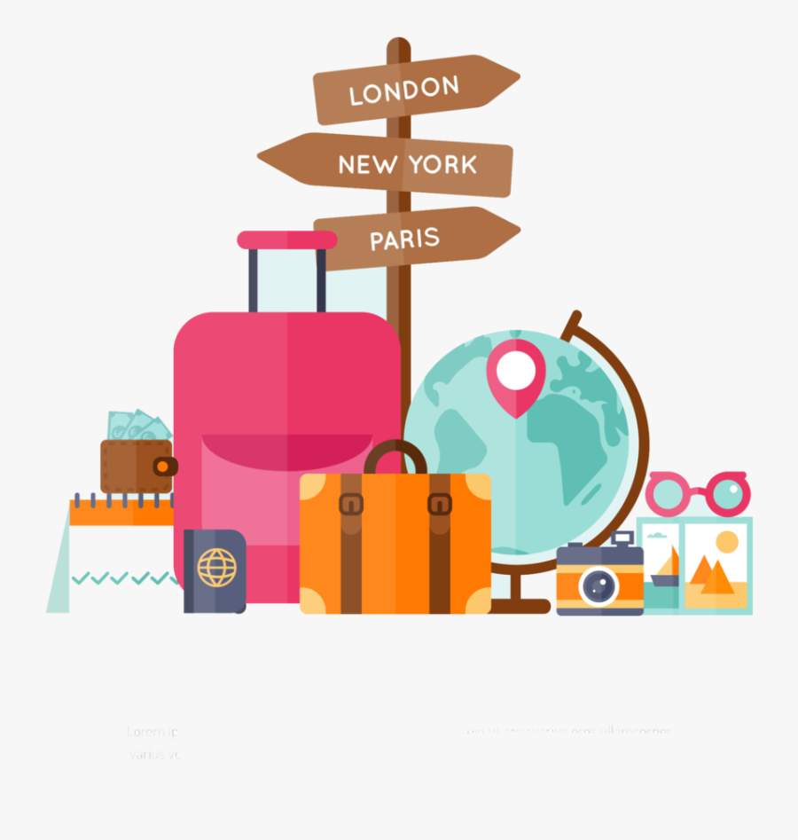 World Travel Png Download Vector, Clipart, Psd - Transparent World Travel Clip Art, Transparent Clipart