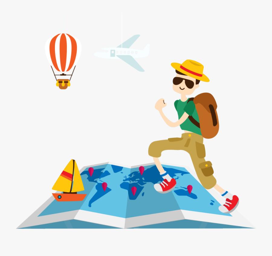 Travel Hd Png Vector, Clipart, Psd - Transparent Background Travel Png, Transparent Clipart