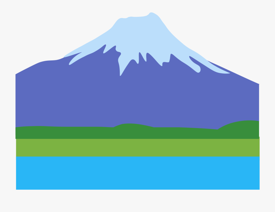 Volcano Clipart Extinct - Summit, Transparent Clipart
