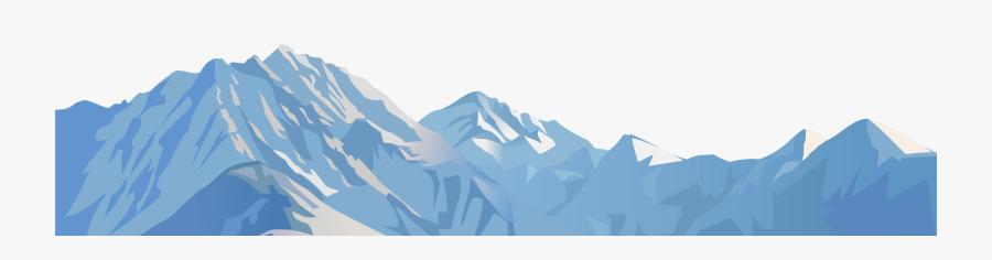 Transparent Mountain Clip Art - Transparent Snowy Mountains Clipart, Transparent Clipart