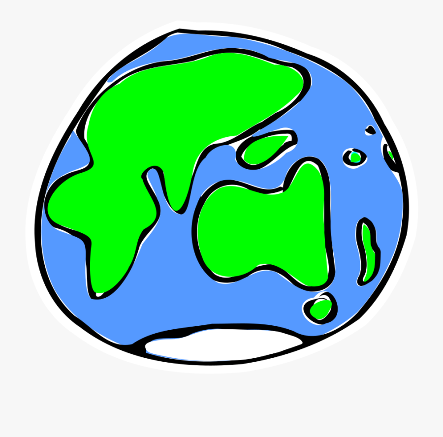 Earth Clipart Sketch - Quick Sketch Of Earth, Transparent Clipart