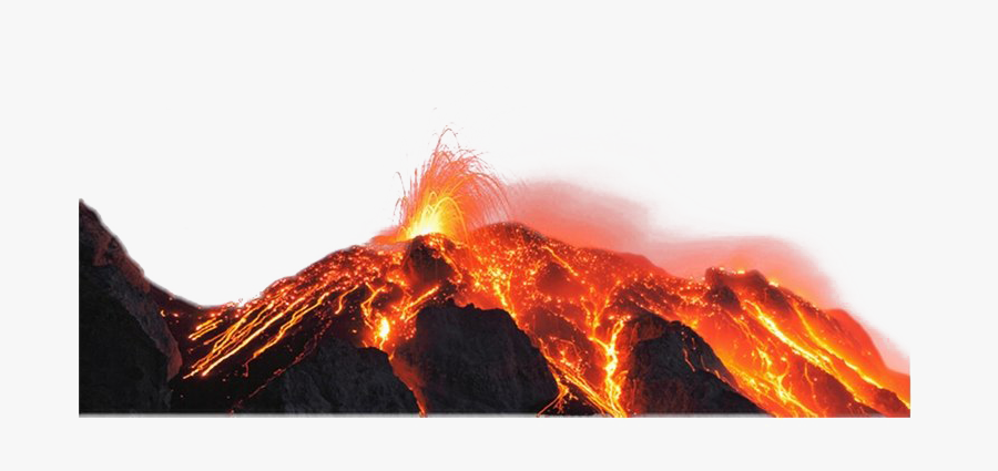 Real Volcano Png Hd Quality - Hawaii Volcanoes National Park Volcanoes, Transparent Clipart