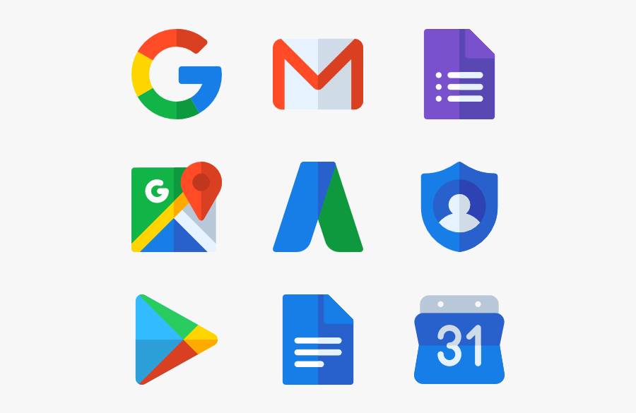 Google Suite - Transparent Background Google App Icon, Transparent Clipart