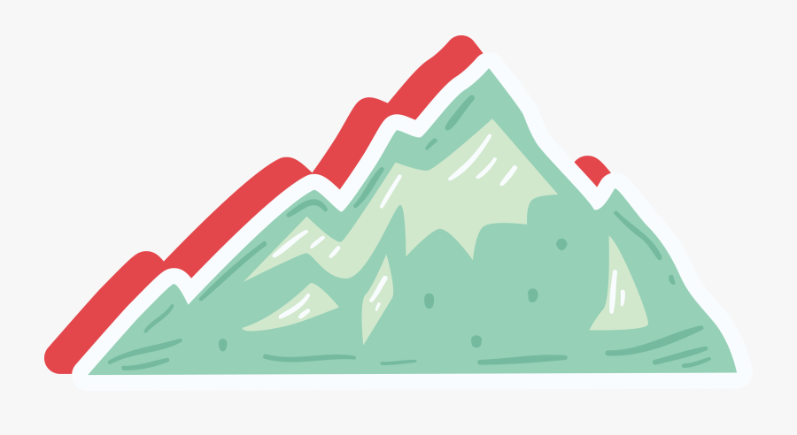 Clip Art Clip Art Green Icon - Cartoon Clip Art Mountain, Transparent Clipart