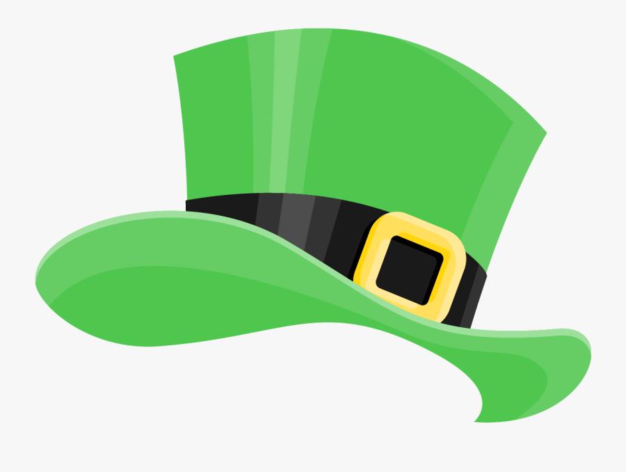 "St Patrick""s Day Green Hat Filter - St Patricks Hat Png, Transparent Clipart"