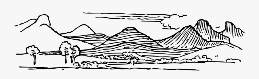 Collection Of Mountain - Mountain Range Clip Art, Transparent Clipart