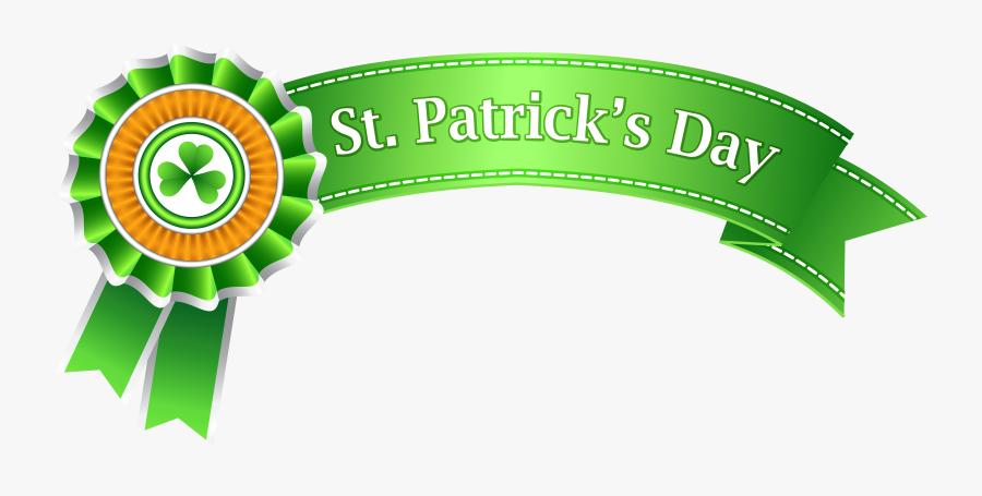 St Patricks Day Banner Transparent Png Clip Art Image - St Patricks Day Banner Clipart, Transparent Clipart