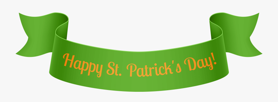 St Patricks Day Banner Png Clip Art - St Patricks Day Banner Clip Art, Transparent Clipart