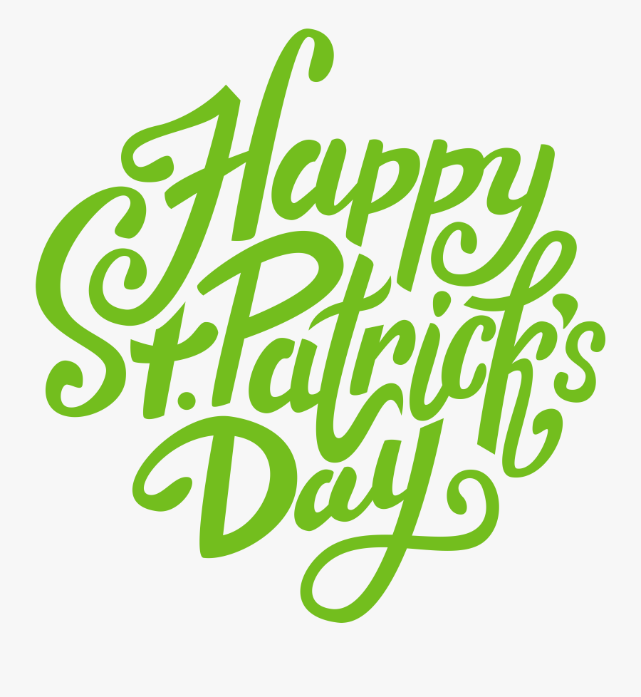 St Patrick's Day Transparent, Transparent Clipart