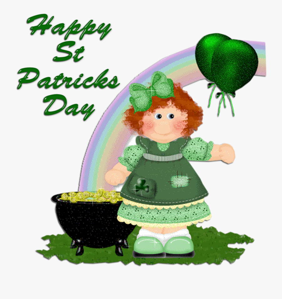 Patricks Day Clipart Cute - Happy St Patrick's Day 2019, Transparent Clipart