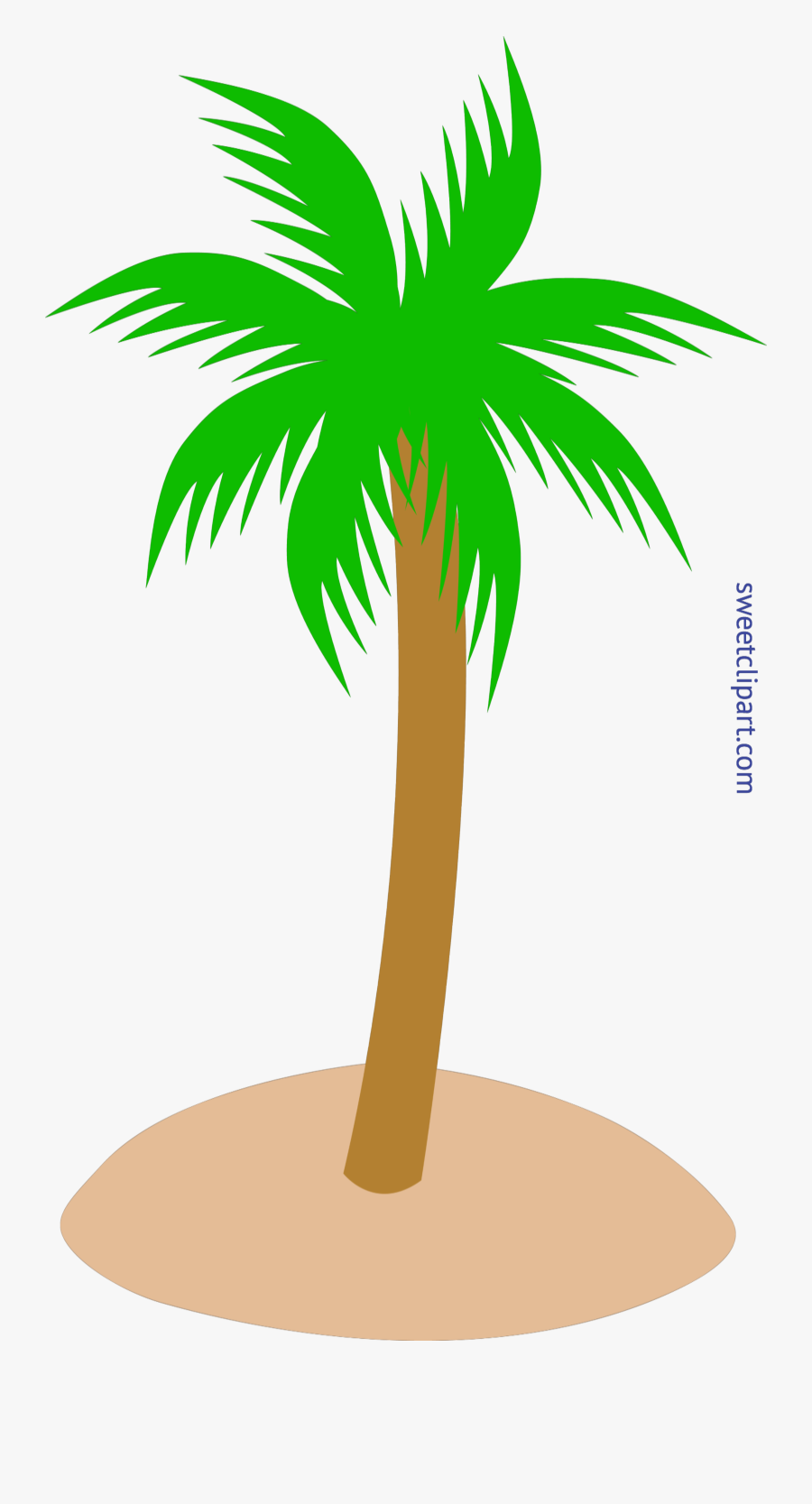 Travel Clipart Tree - Palm Tree Png Vector, Transparent Clipart