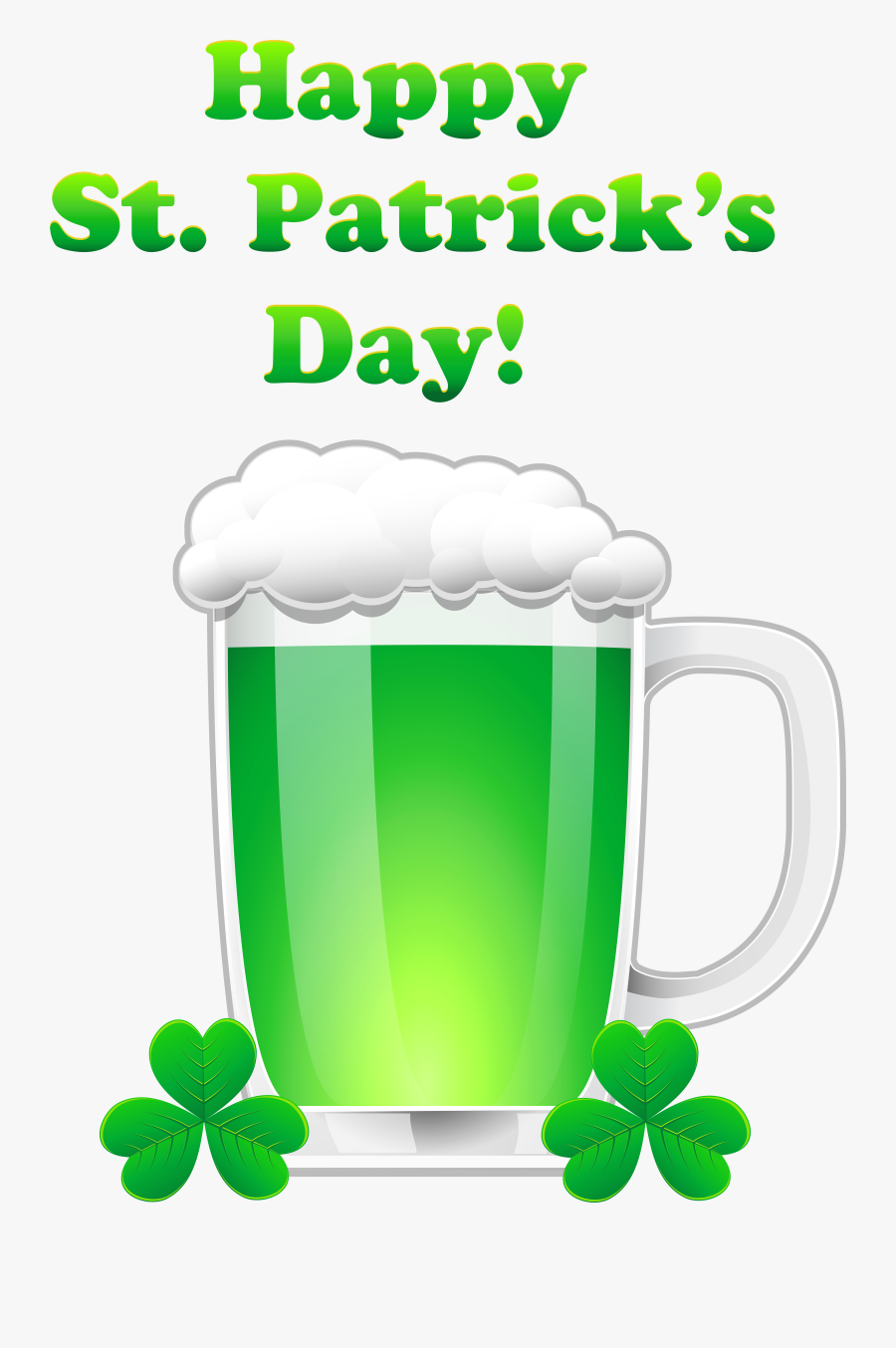Transparent St Patricks Day Clipart - Animated Saint Patrick's Day, Transparent Clipart