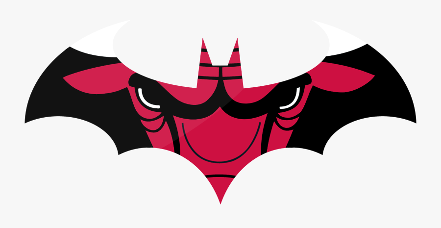 Chicago Bulls Batman Logo Clipart Png Download Chicago Bulls